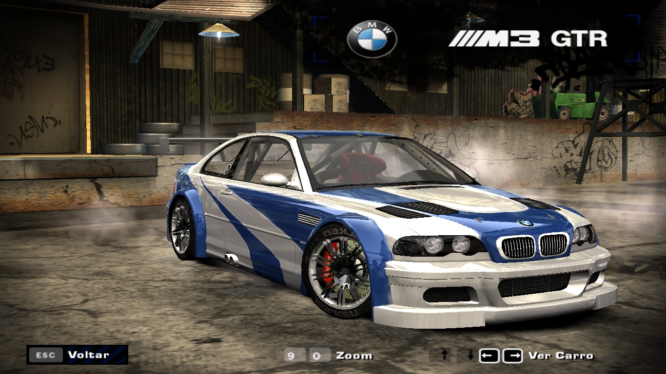 Bmw m3 gtr most wanted фото